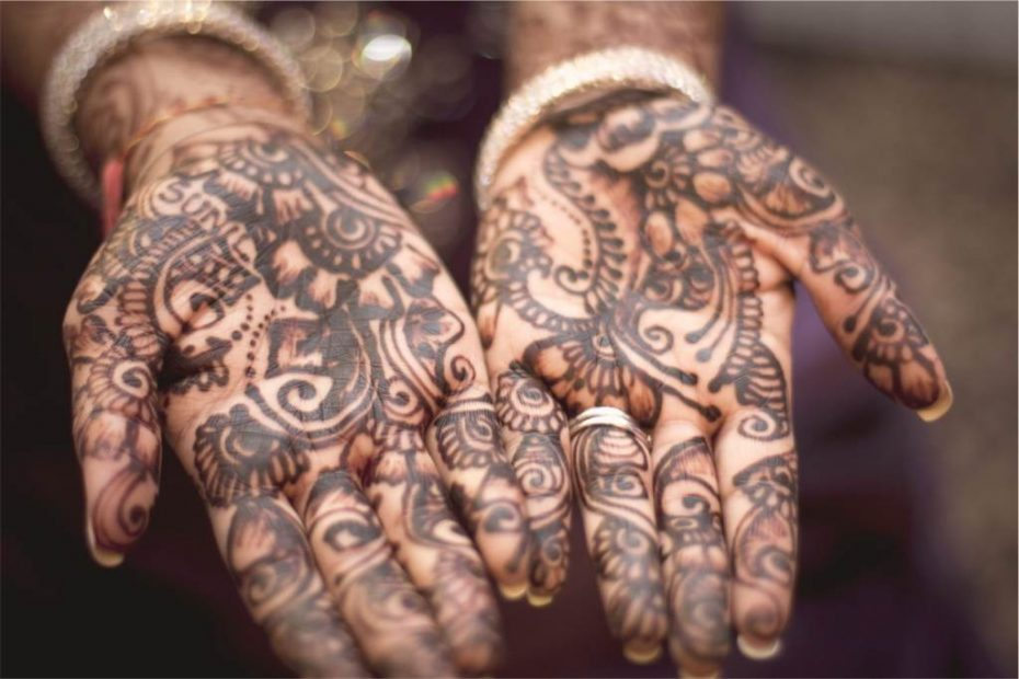 Asian wedding photography henna