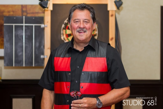 Dennis Priestley Professional Darts Player