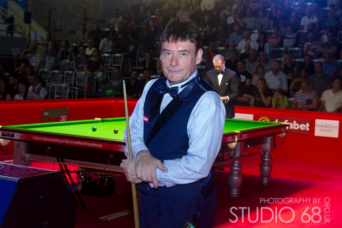 Jimmy White Snooker Match in Bradford