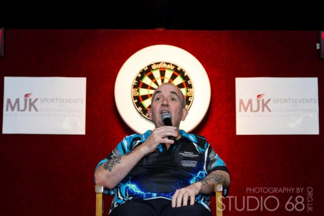 Phil Taylor Interview in Bradford