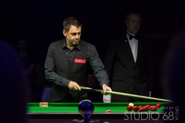 Ronnie-O'Sullivan in action Bradford