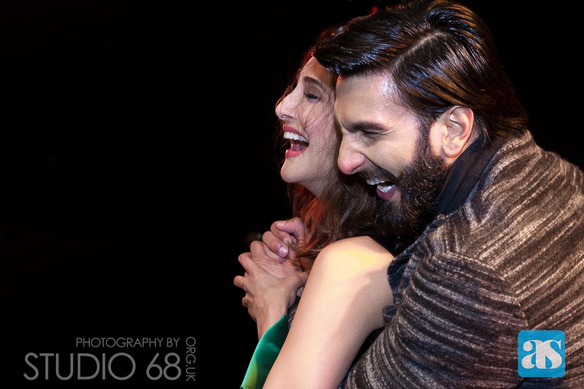 Ranveer Singh and Vaani Kapoor in Bradford