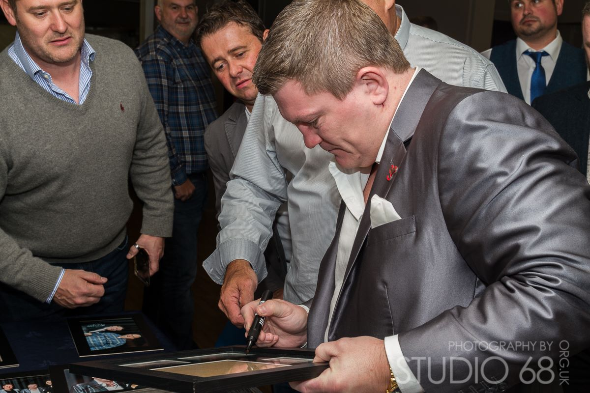 Ricky Hatton in Bradford